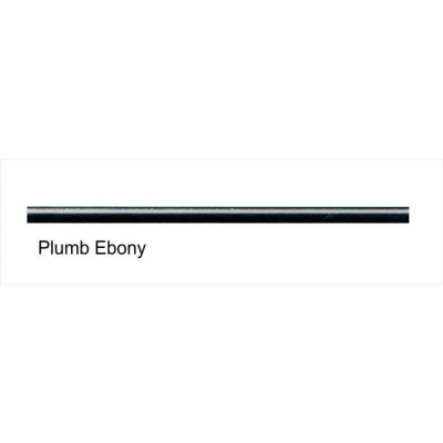 Plumb Ebony 6mm