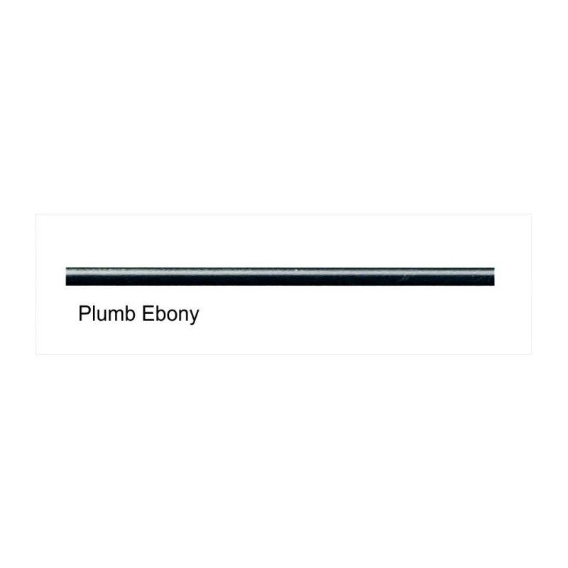Plumb Ebony 6mm