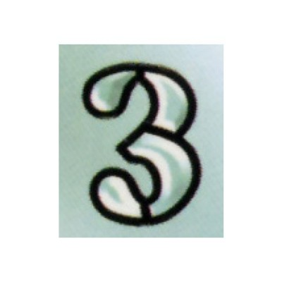 "Number ""3"""