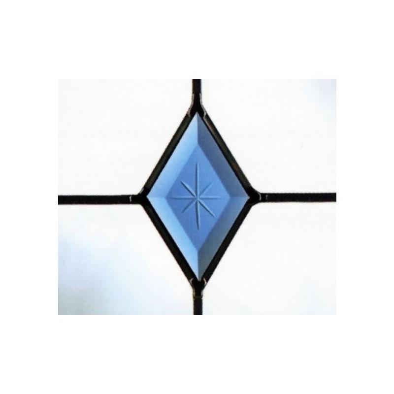 Blue Diamond Polished Brilliant crestat