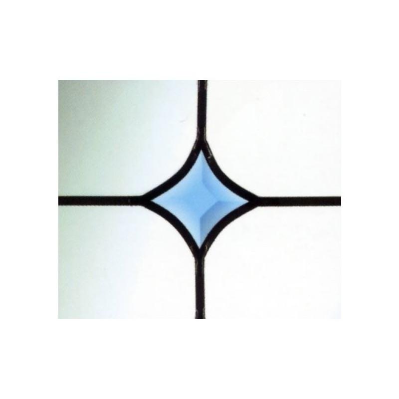 Blue Curved Bevel