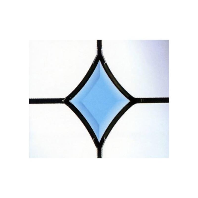 Blue Curved Diamond Bevel