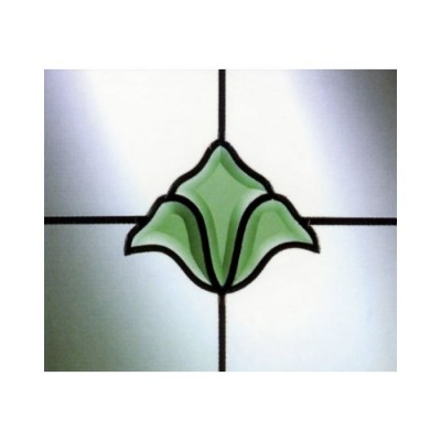 Fanlight Bevels Green