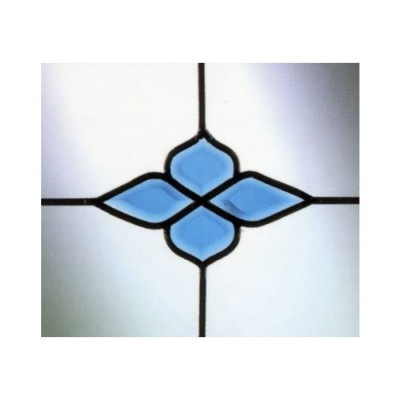 Fanlight 4pc Blue Cluster