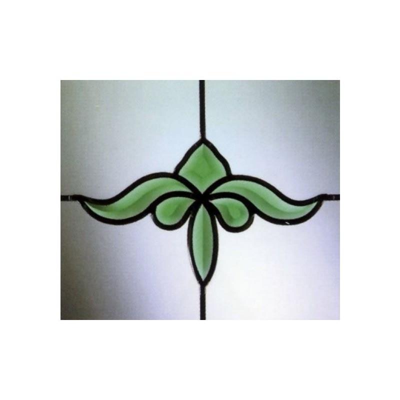 Fanlight Bevels Green